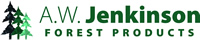 logo aw jenkinson forest products