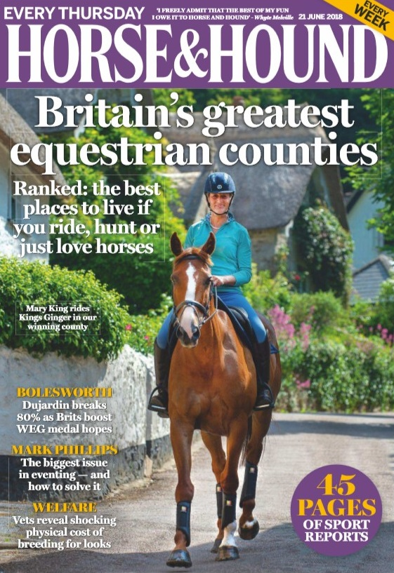 bolesworth featured in horse and hound
