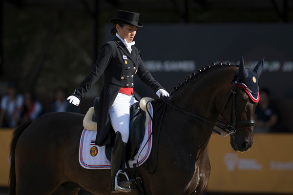 Equestrian Royalty At Equerry Bolesworth International Horse Show