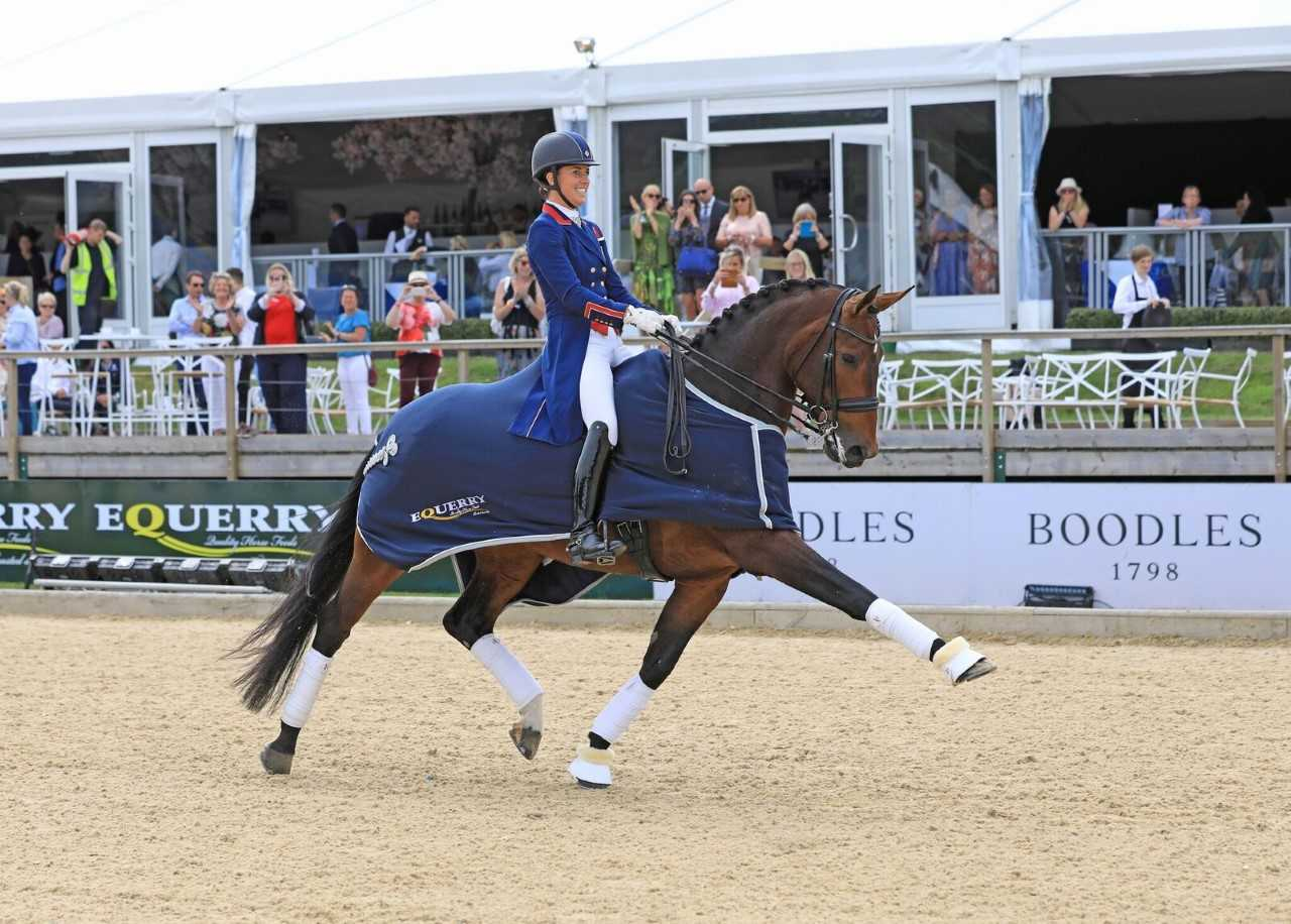 charlotte dujardin and mt st john freestyle
