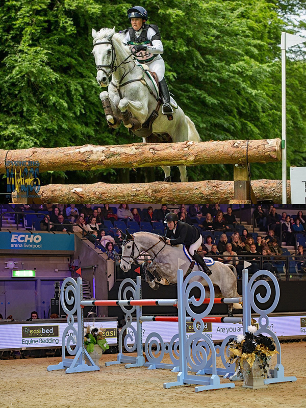 William and Pippa Funnell Take Centre Stage at Bolesworth International