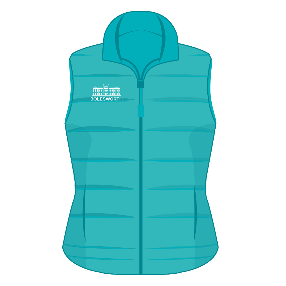 Adult Official 2019 Aqua Gilet